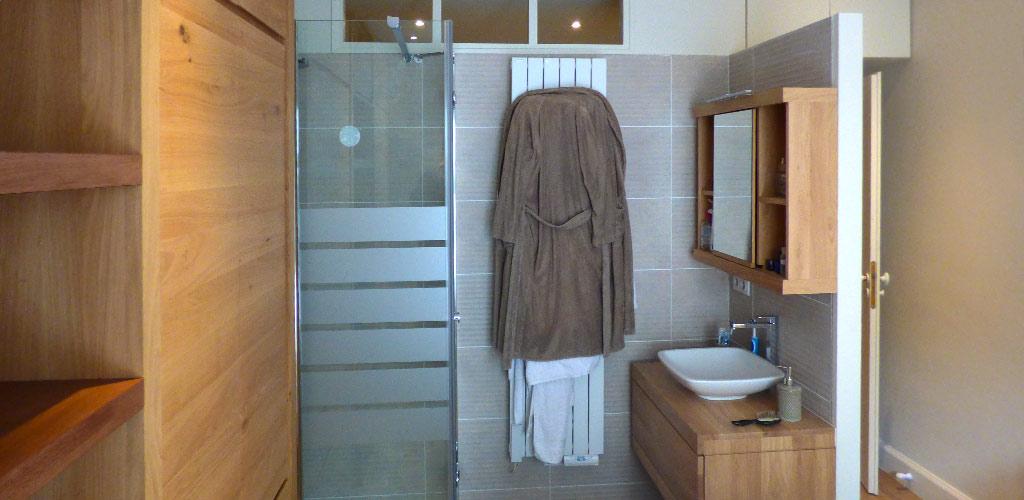 Opa solutions salles de bain sur mesure - Porte appartement bois ...