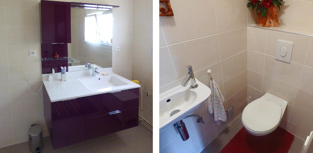 Opa solutions salles de bain sur mesure for Salle de bain carrelee jusqu au plafond