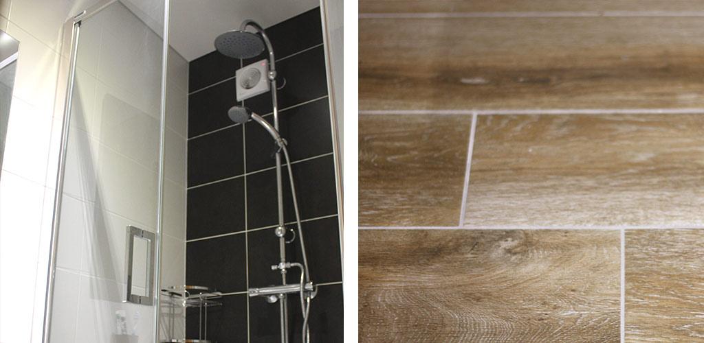 Opa solutions salles de bain sur mesure for Carrelage sous pente