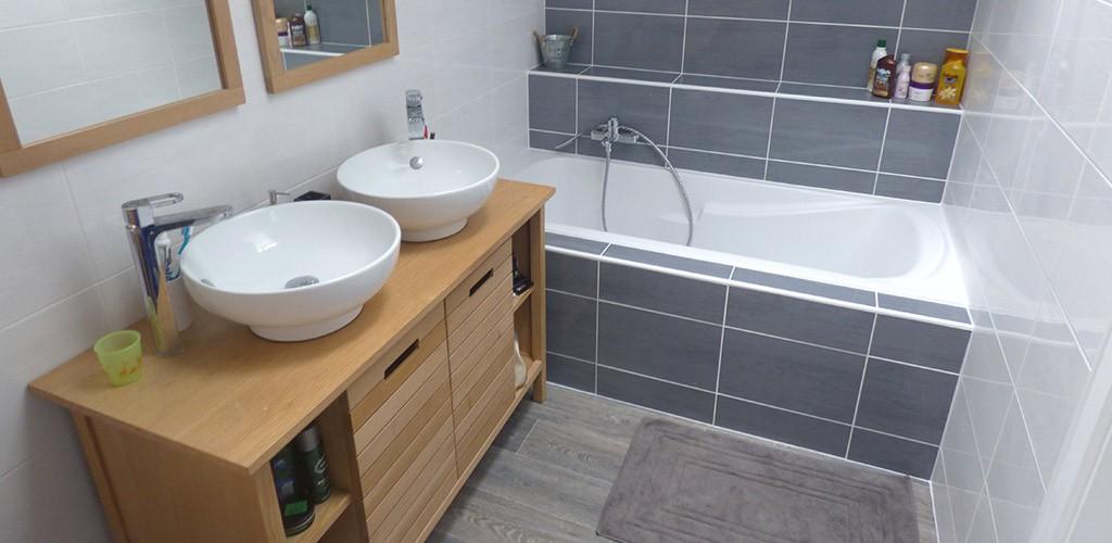 aménagement complet salle de bain