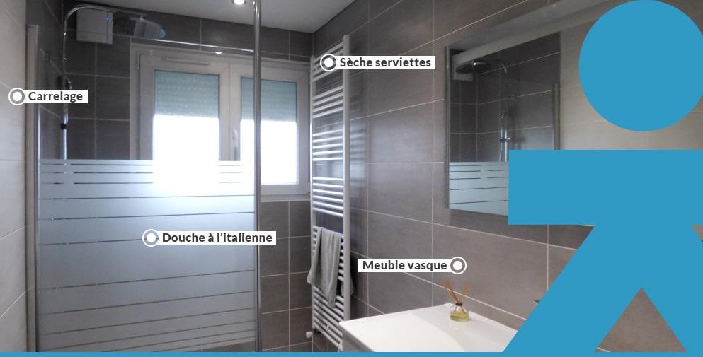 Aménagement de salle de bain sur mesure