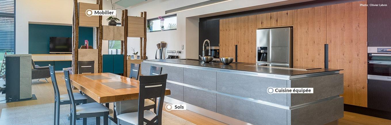 > Cuisines et espaces à vivre